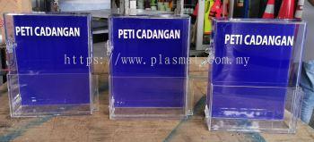 PETI CADANGAN SUGGESTION BOX