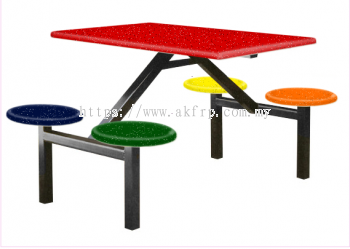 4 Seater Canteen Table - AK404