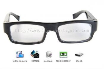 Eagle Eye-Built-in 4GB Invisible Lens Glasses Camera DVR