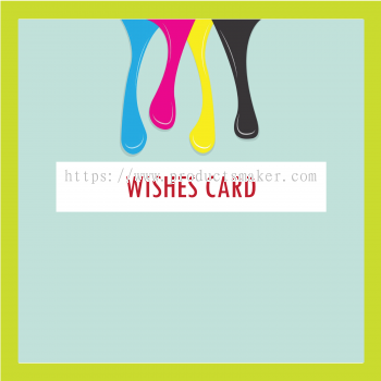 Premium & Gift - Wishes Card Printing