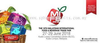 The 19th Malaysian International Food & Beverage Trade Fair (MIFB 2018)