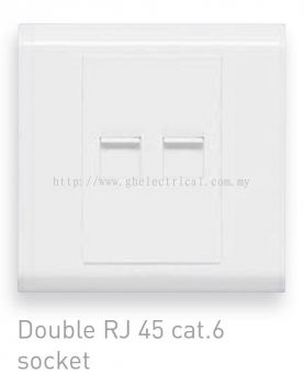 Balanko 2gang cat6 socket