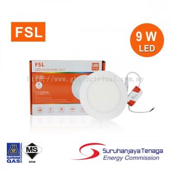 Fsl Led Downlight / Panel Light With Sirim Approved And Suruhanjaya Tenaga Approved