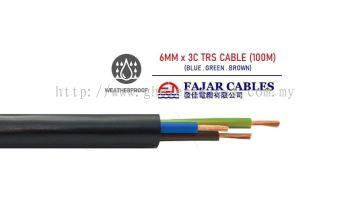Fajar 0.75mm-6mm X 3c Trs Cable