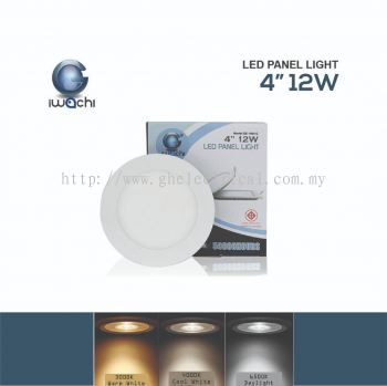 Iwachi 12w 4�� Led Panel Light (round And Square)