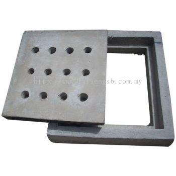 Compressed Concrete Slab/Concrete Grating