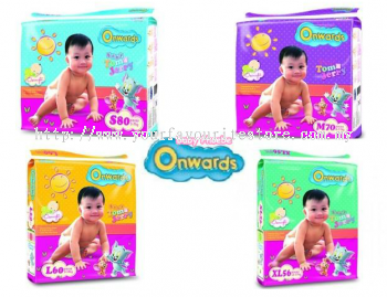 Onwards Baby Diapers (S,M,L,XL)