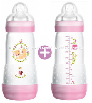 MAM Easy Start Anti-Colic Bottle 320ml-Double Pack