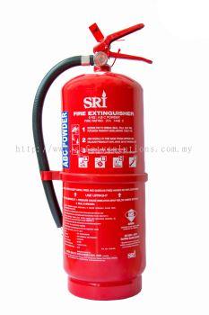 SRI Portable Dry Powder Fire Extinguisher 9kg