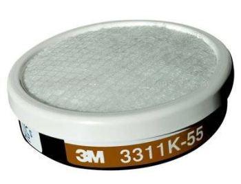 3M™ 3311K-55 Organic Vapor Cartridge with Pre-filter
