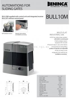 Beninca Bull10m