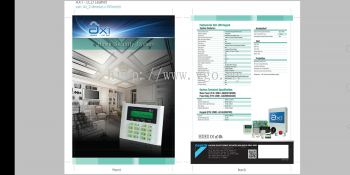 DAIKIN AX1 32 ZONES with LCD KEYPAD