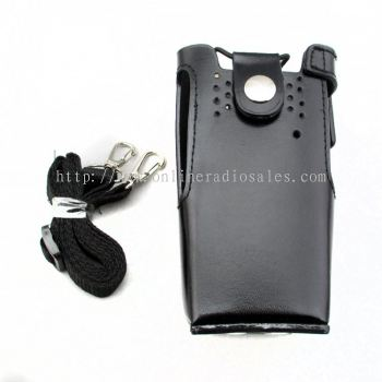 Walkie Talkie Leather Case for Fontek FT838,Motorola GP328