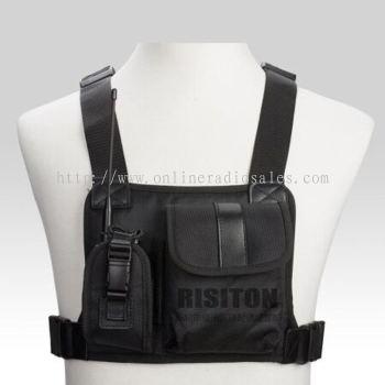 对讲机胸包适用于摩托罗拉 海能达 宝峰 八重洲 威泰克斯对讲机包
