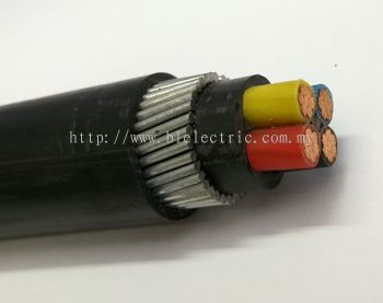 PVC/SWA/PVC (ARMOURED CABLE)