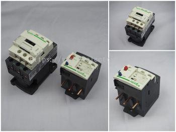Schneider Contactor & Thermal Overloead Relays (TOR)