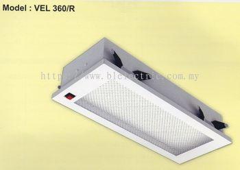 VEL 360/R LED Emergency Light-Recessed Type