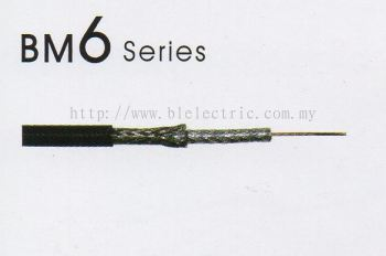 Coaxial Cable RG59 BM6 Series