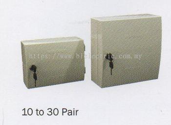 Plastic Tel Distribution Box 10 to 30 Pair