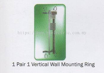 1 Pair 1 Tel Vertical Wall Mounting Ring