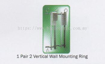 1 Pair 2 Tel Vertical Wall Mounting Ring