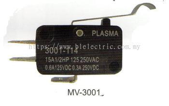 PLASMA MV-3001 Mini Micro Switch