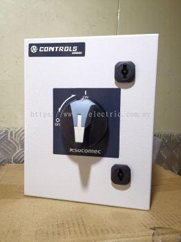 Socomec Isolator cw IP65 Waterproof Metal Box