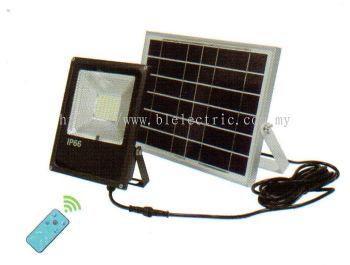 Solar Panel Floodlight - 30w