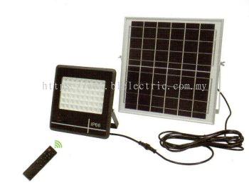 Solar Panel Floodlight - 50w