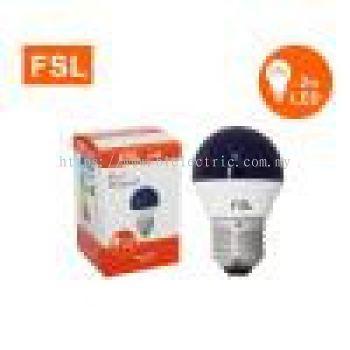 FSL 2w E27 LED Bulb - Blue