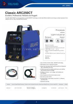 Riland Classic ARC250CT Welding Machine