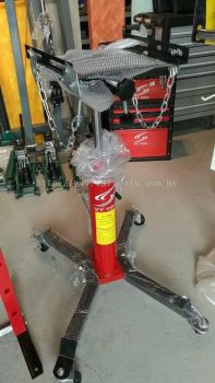 SMFTOOLS 0.5T Hydraulic Transmission Jack Double-cylinder Gearbox Carrier 1100LBS Foot Step Type Tra
