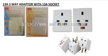3 Way Adaptor
