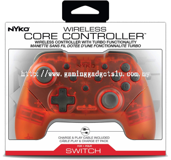 Nintendo Switch Nyko Core Wireless Controller (Red)