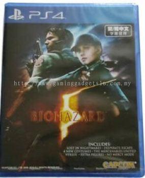 PS4 Biohazard 5(R3)English/Chinese