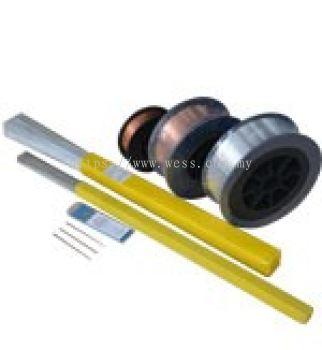 MIG Wire, TIG Rod & Tungsten