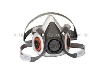 3M 6100 Half Face Double Respirator