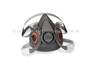 3M 6300 Double Half Face Respirator