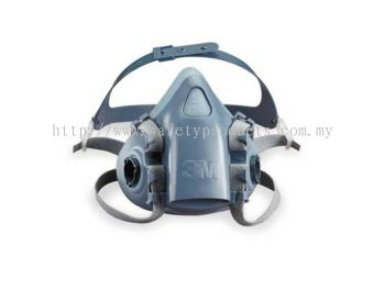 3M 7501 Silicone Double Respirator