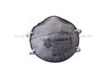 3M 8247 R95 Maintenance Free Respirator for Organic Vapors