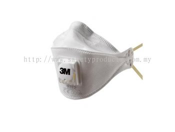 3M 9312 P1 Folded Maintenance Free Respirator with Valve