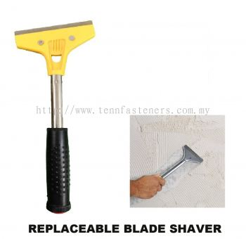 "4"" REPLACEABLE BLADE SHAVER"