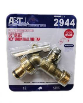 "1/2"" BRASS LOCKABLE BIB TAP ABTOOL"