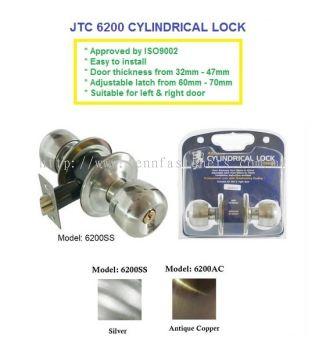 JTC 6200AC CYLINDRICAL LOCK
