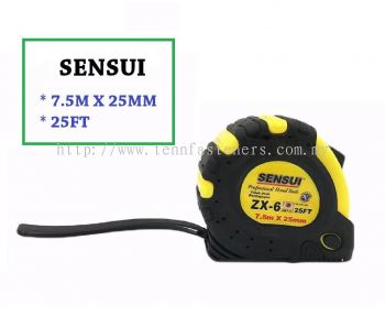 ZX-6# 25FT SENSUI MAGNETIC MEASURING TAPE