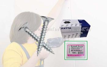 TF-IPZ 3MM X 25MM DRYWALL SCREW BUGLE HEAD ZINC PLATED (PATTA) (1000PCS/BOX)
