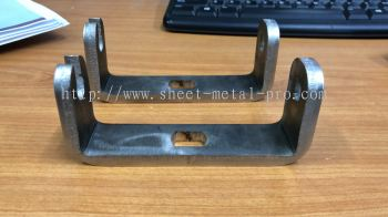 Stainless Steel - Rubber industry Bracket
