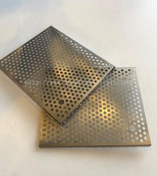 laser cutting- Manufacturing Mild steel MS plate for semiconductor project