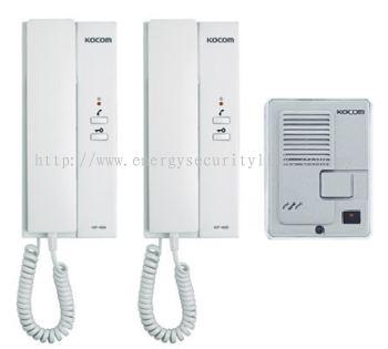 KDP-602AD KOCOM (1 TO 2) DOOR PHONE SYSTEM