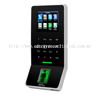 F22 Ultra thin fingerprint time attendance and access control terminal (Black)
